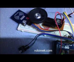RFID Voice Card Reader Project