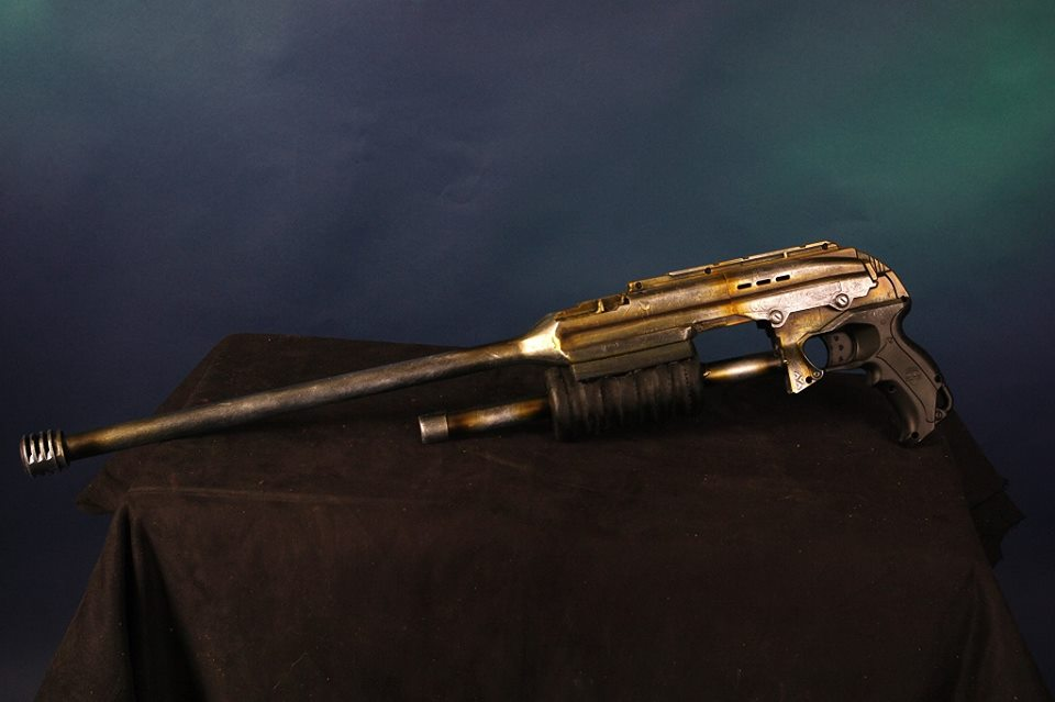 Picture of Heavy Nerf Conversion to Tactical Shotgun