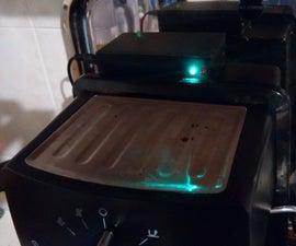 Arduino Ultrasonic Water Level Sensor for Espresso Machines
