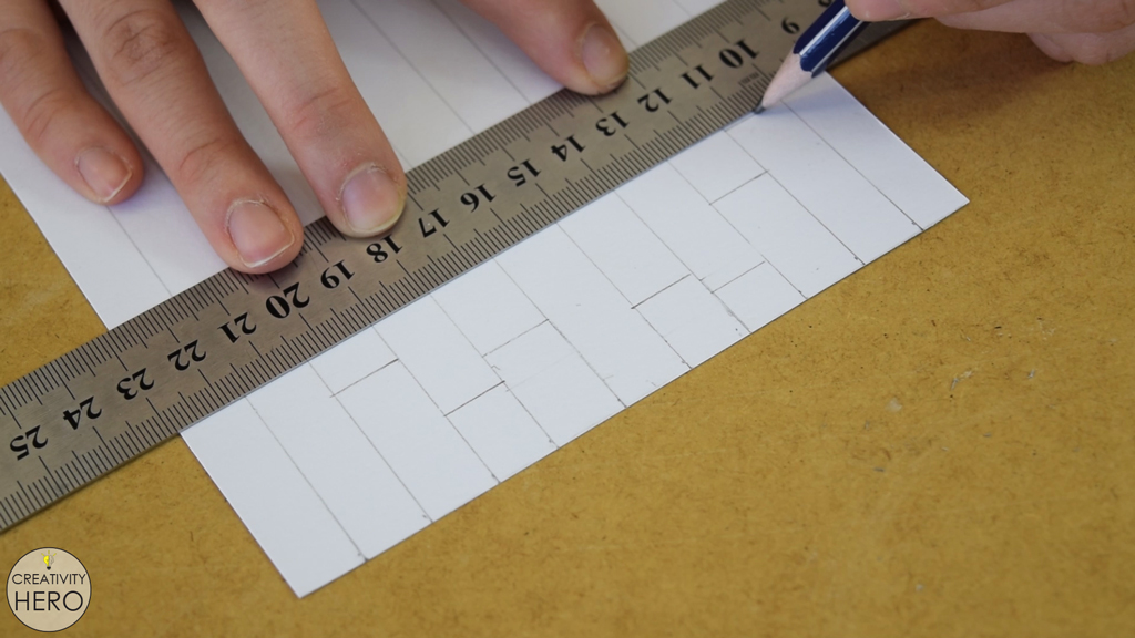 Picture of Drawing the Design of the Top of the Lamp.