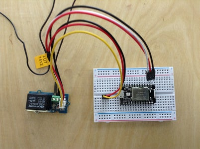 Connect Relay to the Spark Core