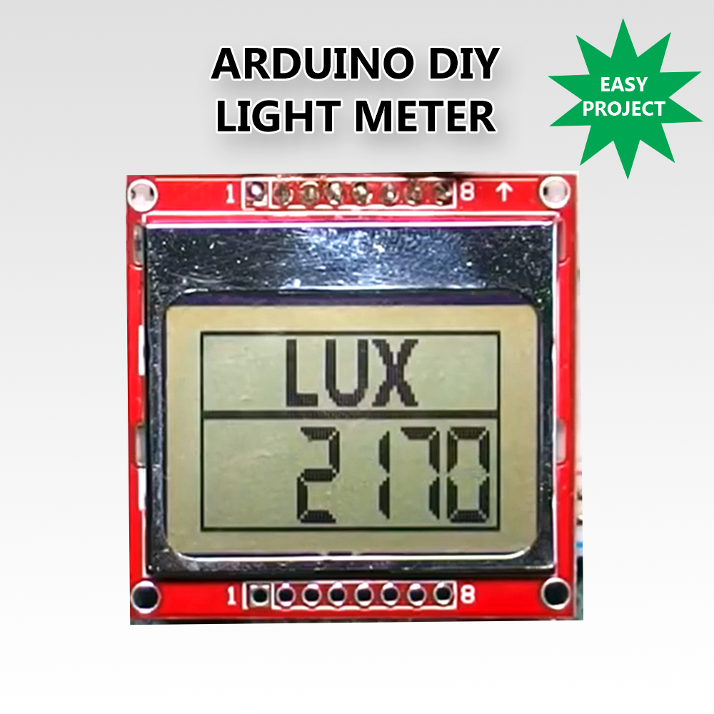 Picture of Arduino DIY Light Meter With BH1750 Sensor