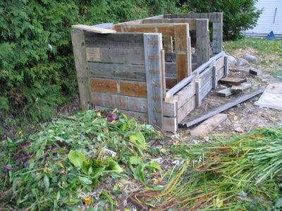 Triple Compost Bin in the Works