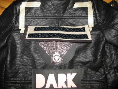 Affix EL Patches to Jacket and Wire It Up