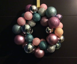 XMas DIY Project: Ornament Wreath