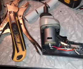 Li-on Battery Upgrade for Cordless Screwdriver