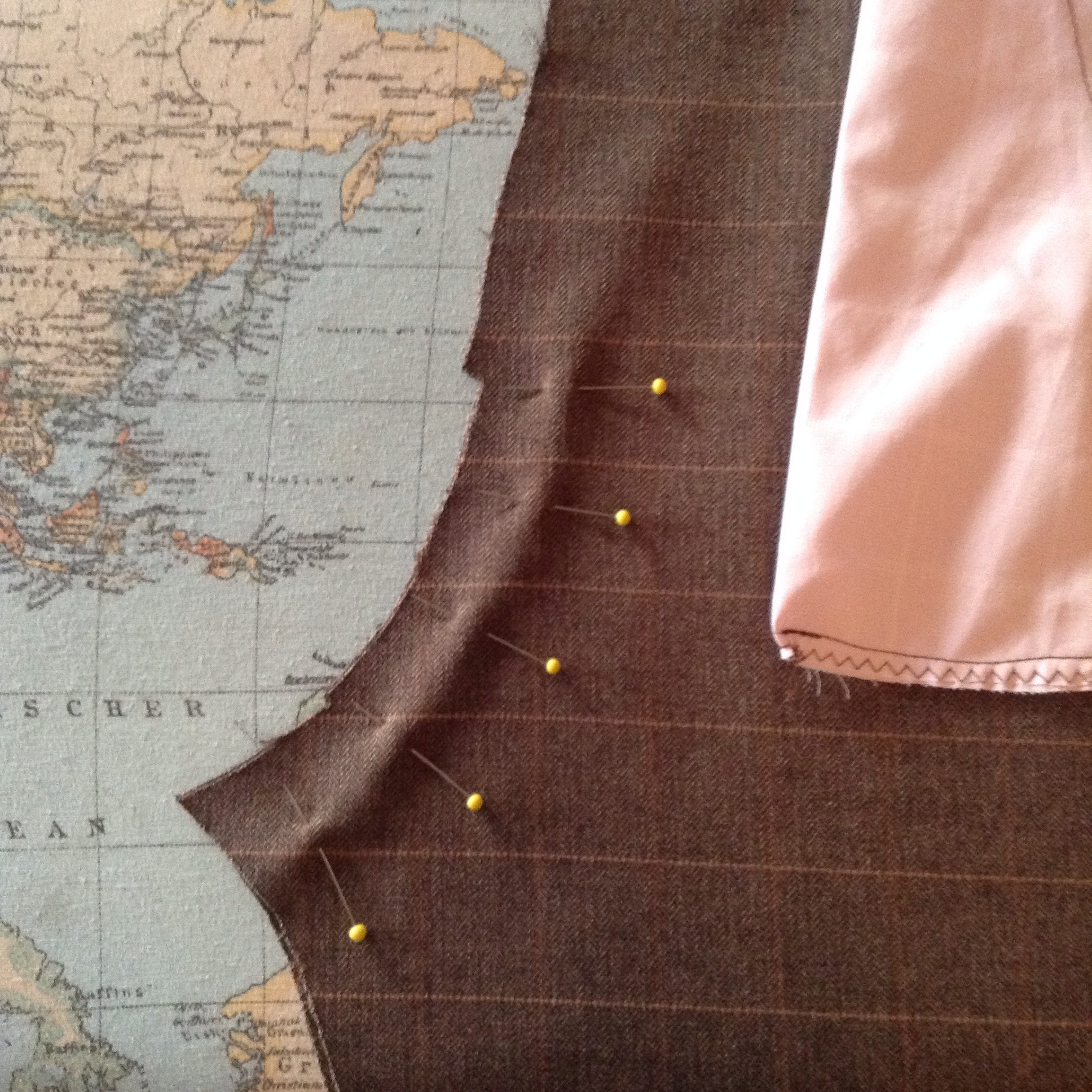 Picture of Pin & Sew the Crotch Seam