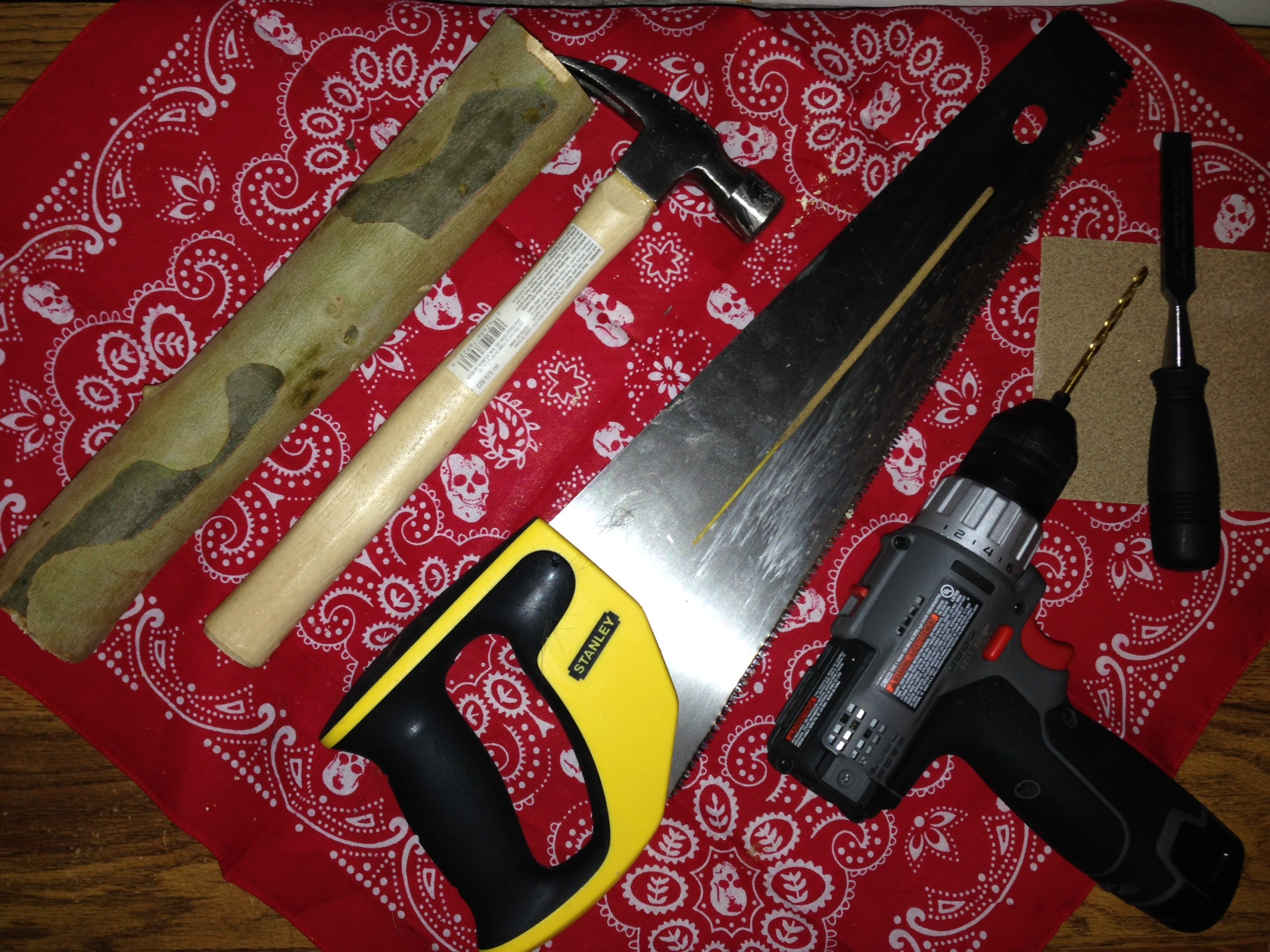 Picture of Gather Wood & Tools