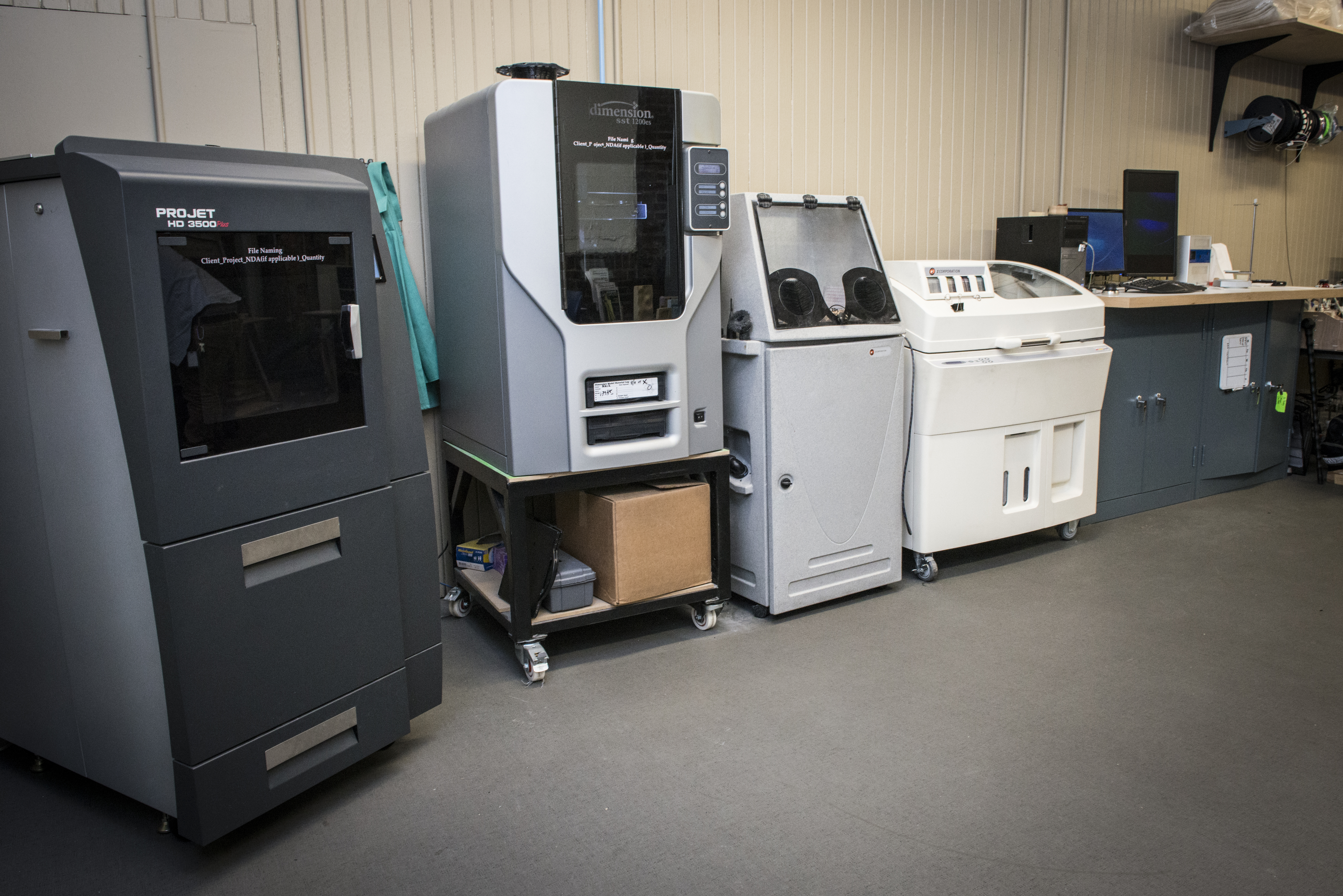 Picture of 3D Printing and Laser Cutting