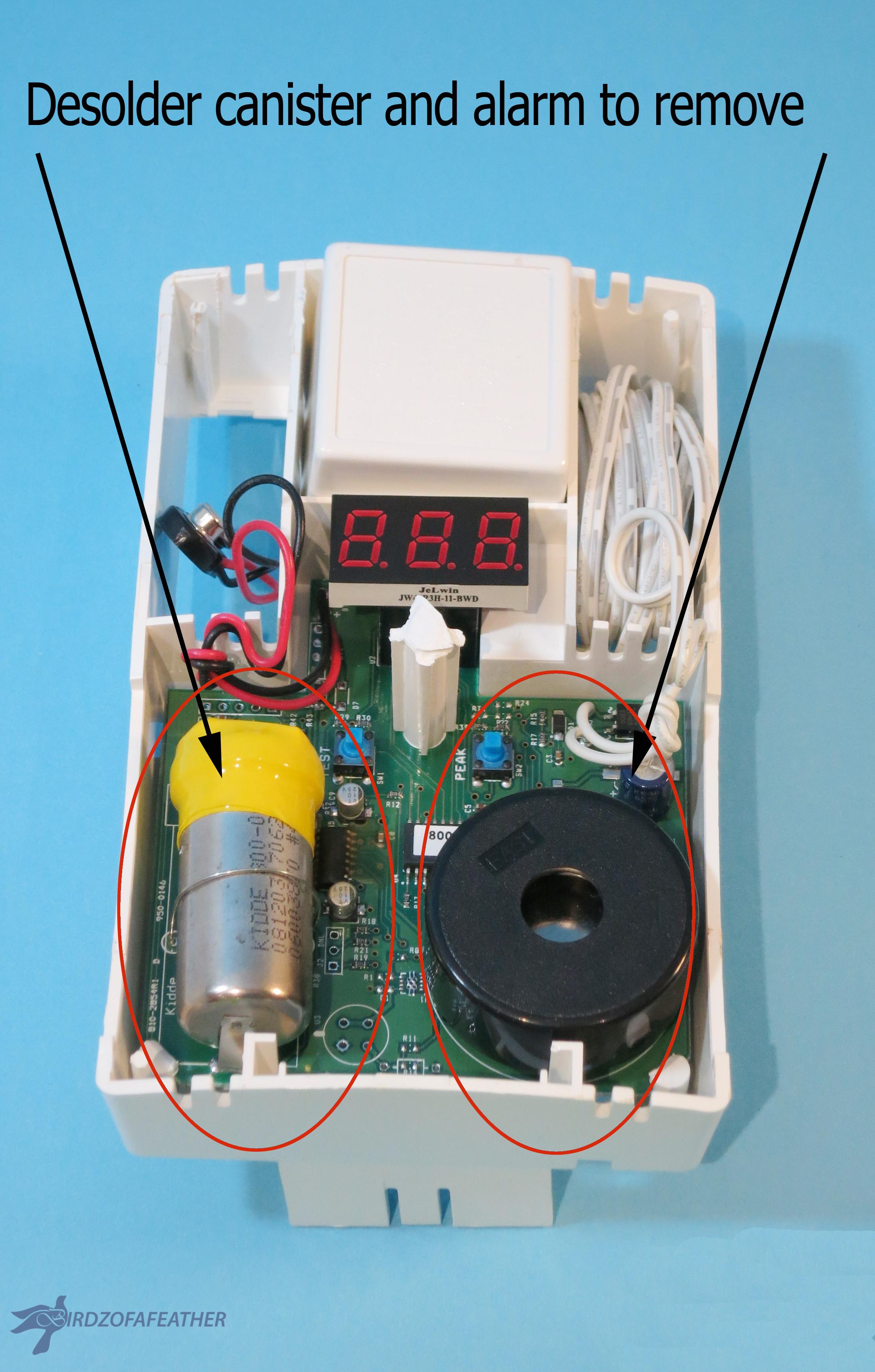 Picture of Remove Circuit Board