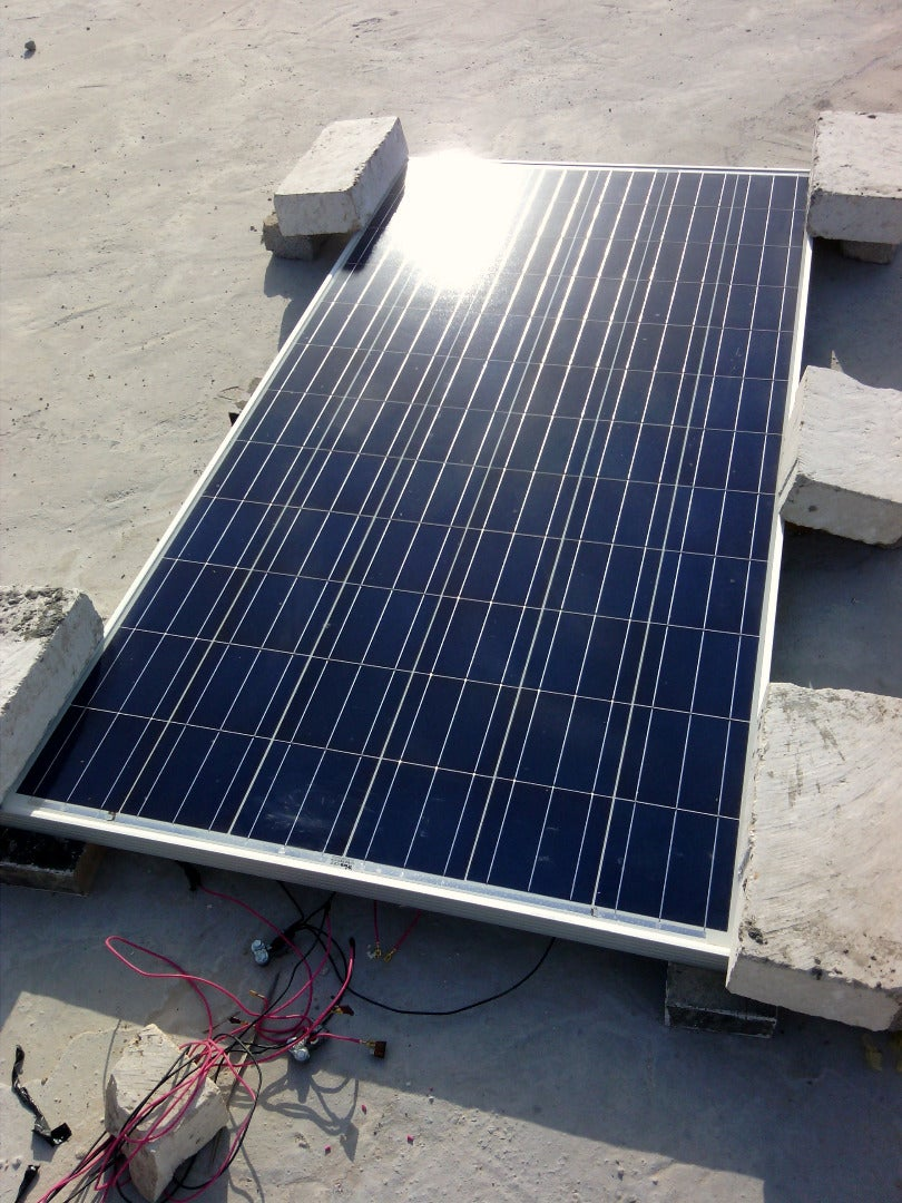 How To Change 36v 12v Solar Cell 9 Steps With Pictures Marine Panel Wiring