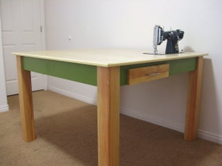 Make A Custom Sewing Table 9 Steps With Pictures Instructables