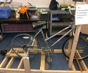 Bike Powered Generator Using an Alternator