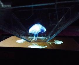 DIY Holograph Projector