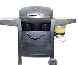 """Design  and Construction of a Kerosene Fueled """"Gasification"""" Grill"""