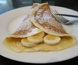 How to create Perfect Crêpes