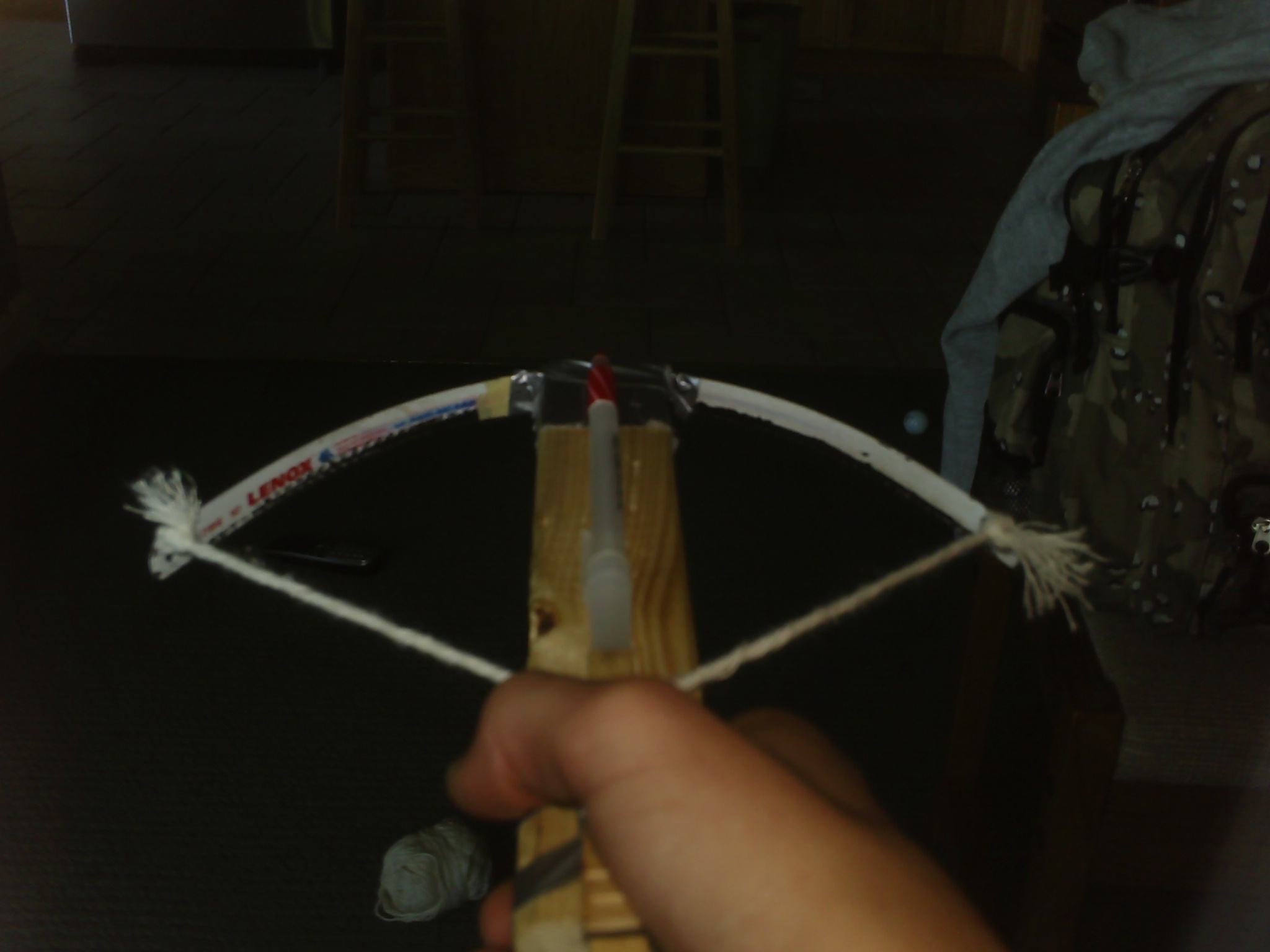 Picture of Home Made Tension Crossbow(no Rubber Bands!:D)