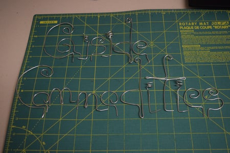 Making the Letters, Tips and Tricks