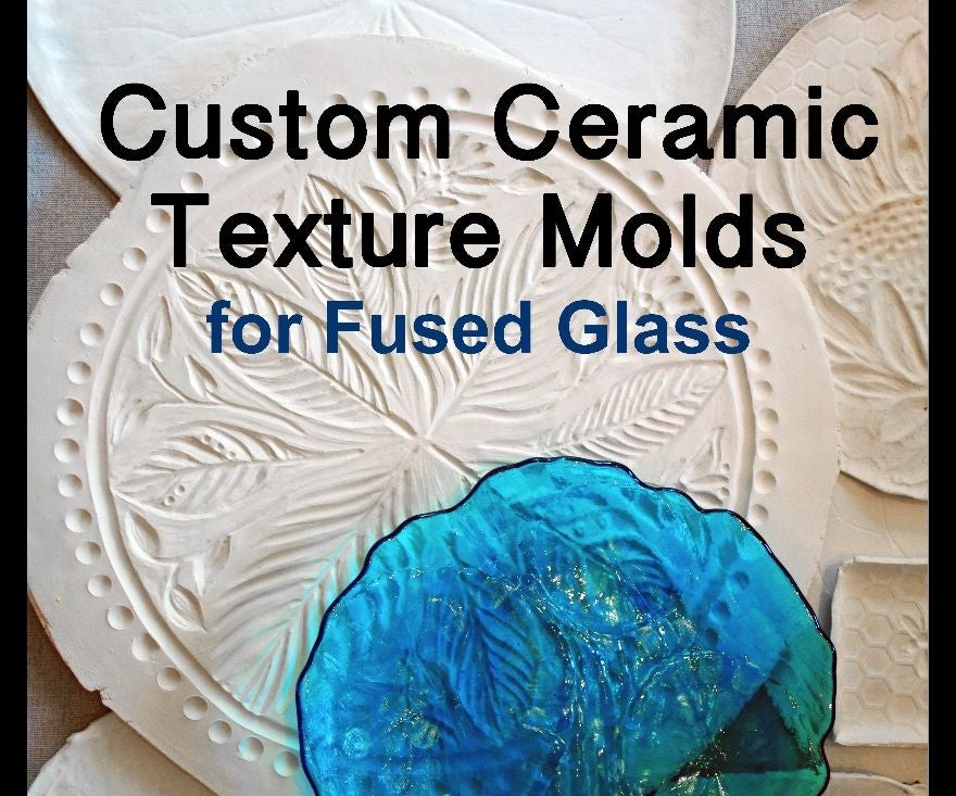 Custom Ceramic Texture Molds for Fused Glass: 4 Steps (with Pictures)