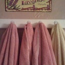 How to make a towel or coat rack.