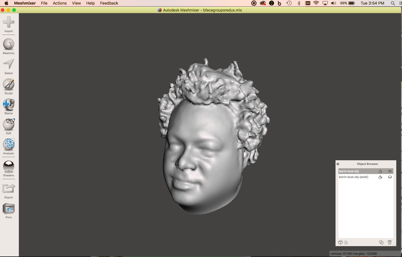 Picture of Scan Your Friend Using a 3D Scanner