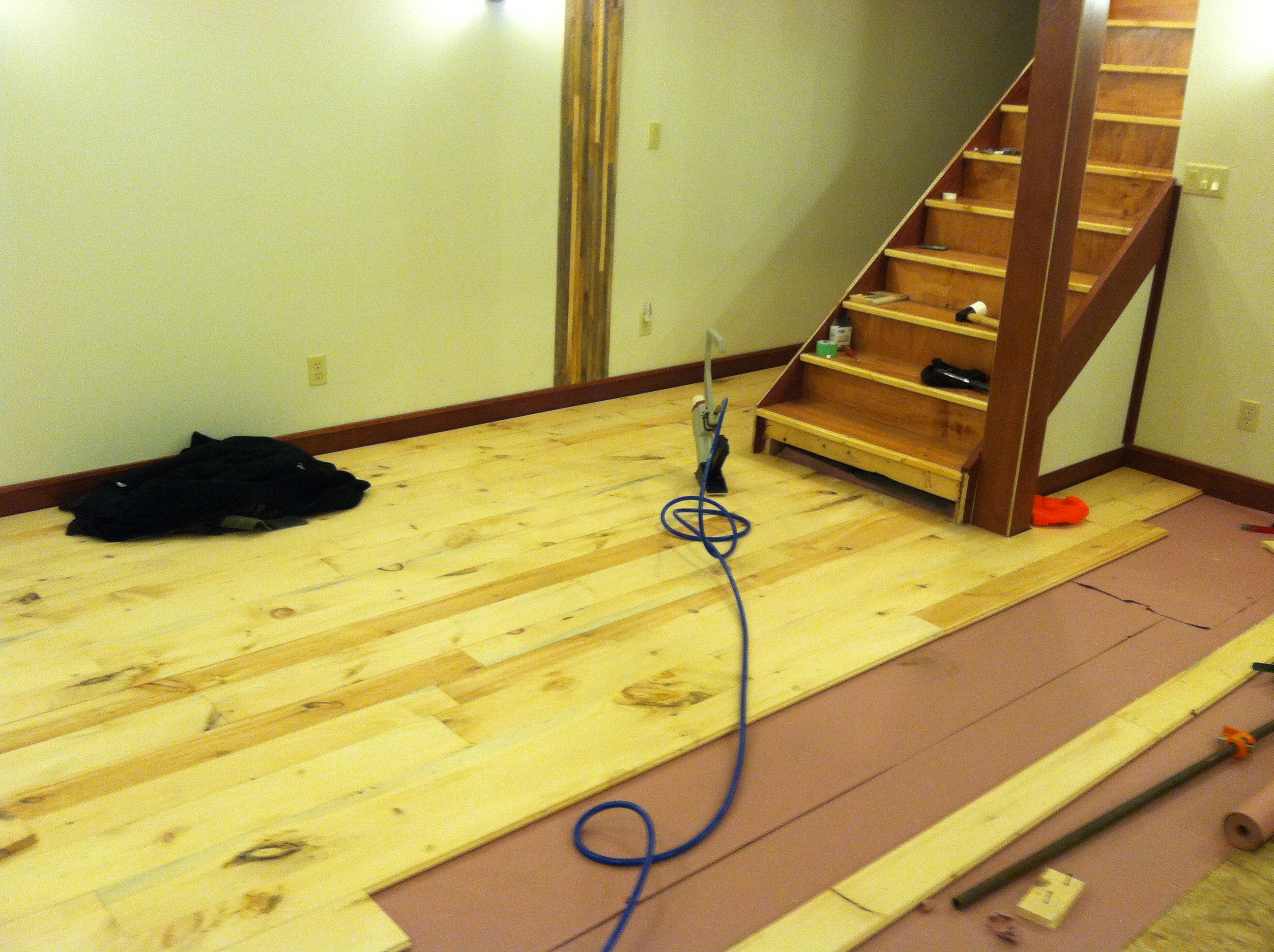 Picture of Wide Plank Floor DIY: Rough Cut to Tongue and Groove