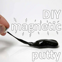 DIY Magnetic Putty