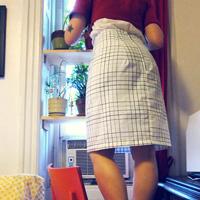 Pillowcase Pencil Skirt