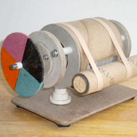 Mini Cardboard Tesla Turbine