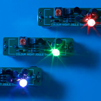 Color-Changing Joule Thief Nightlight