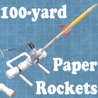 Long-Distance Paper Rockets