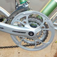 Simple Bike Chain Guard