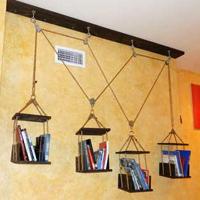 Hanging Bookshelf Scale