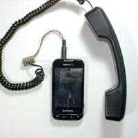 Telephone Handset to Cell Phone