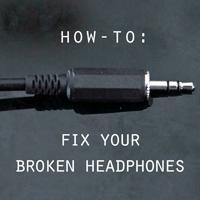 Repair Your Headphone Plug